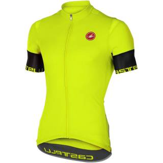 Camisa Castelli Entrata Amarelo Fluo | BIKE ALLA CARTE