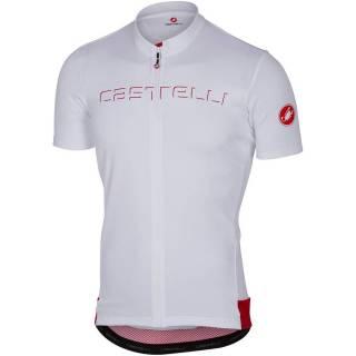 Camisa Castelli Prologo V Branca | BIKE ALLA CARTE