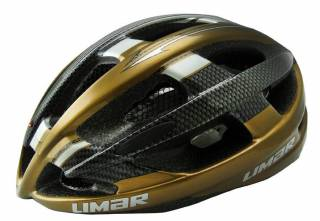CAPACETE LIMAR SPEED ULTRALIGHT FOOTON 104 PRETO/DOURADO G