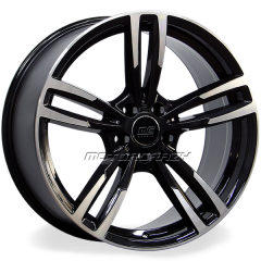 Jogo de rodas réplicas BMW M3 2015 Preto 19x8 5x112 ET35