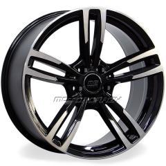 Jogo de rodas réplicas BMW M3 2015 Preto 19x8 5x120 ET35