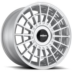 Jogo de rodas Rotiform LAS-R Gloss Silver 18x8,5 5x112 e 5x114,3
