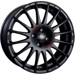 Jogo de Rodas OZ Superturismo GT Matte Black 18x8 5x112