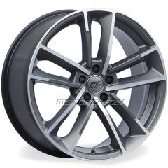 Jogo de rodas réplicas Audi RS7 Performance Grafite Fosco 18x8 5x112 ET45