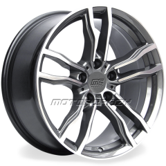 Jogo de rodas réplicas BMW X6M Grafite 21 5x120