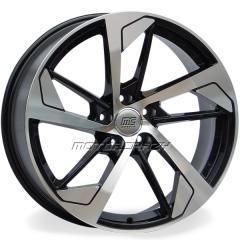 Jogo de rodas réplicas Audi RS5 Preto 18x8 5x112 ET45