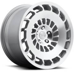 Jogo de Rodas Rotiform CCV Silver & Machined 18x8,5 e 18x9,5 5x100