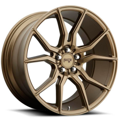 Jogo de rodas Niche Ascari Bronze 20x9 e 20x10 5x120