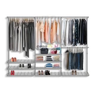 Guarda roupa closet aramado aberto CLR281 - 2,80m