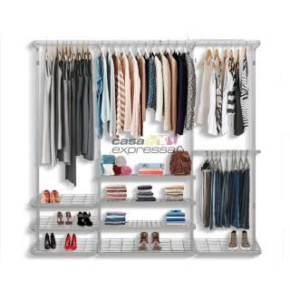 Guarda roupa closet aramado aberto CLR281 - 2,20m
