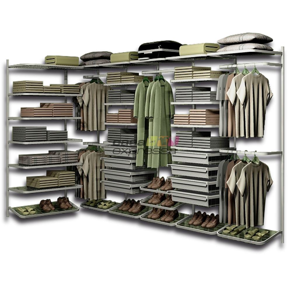 Closet Aramado em L  CLL01 - 3,10m x 1,60m