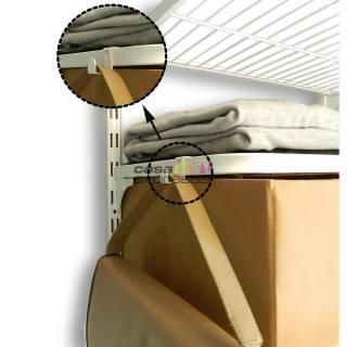 Gancho Multiuso - 10x20cm - Branco