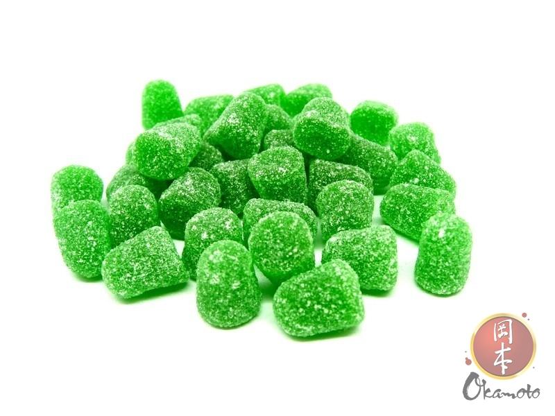 Mini goma refrescante sabor eucalipto