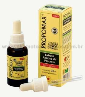 Propomax extrato de própolis sem álcool 30ml - Apisflora