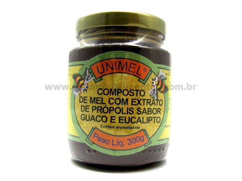 Xarope de própolis, guaco e eucalipto 300g - Unimel