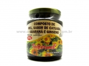 Mel, catuaba, guaraná e ginseng 300g - Supermel