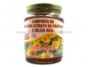 Composto de mel, própolis e Geléia real 300g - supermel