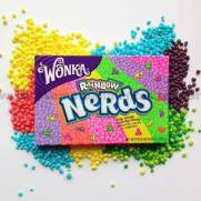 Bala nerds Rainbow Wonka 141.7g