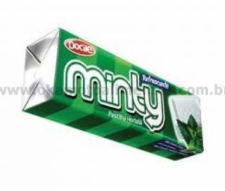 Pastilha de Hortelã Minty contém 10 und