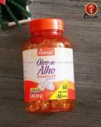 Óleo de alho desodorizado(60+10 cáps)-Tiaraju