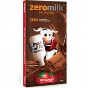 Chocolate Zeromilk Morango - Sem glúten, sem lactose
