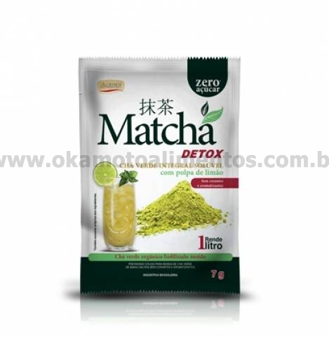 Matchá Detox 7g com Polpa de Limão