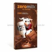 Chocolate Zeromilk Puro - Sem glúten, sem lactose