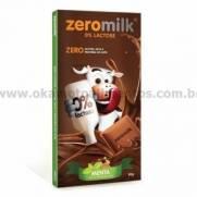 Chocolate Zeromilk Menta - Sem glúten, sem lactose