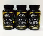 3 potes de Maca Peruana Premium Unilife 100% Pura - 60 cápsulas 550mg