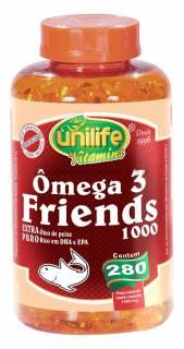 Omega 3 Friends 280 Cápsulas | OKAMOTO ALIMENTOS