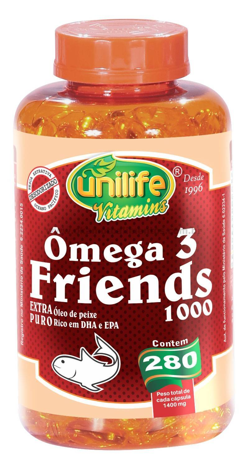 Omega 3 Friends 280 Cápsulas