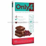 Chocolate Only4 com Cranberry Genevy 80g