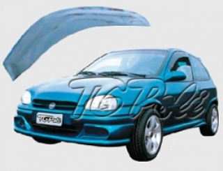 Calha de Chuva Chevrolet Corsa 94/01 2 portas - TG Poli   DUB Store