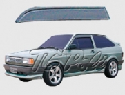 Calha de Chuva VW Gol / Voyage / Parati / Saveiro 87/94 | 2 portas- TG Poli