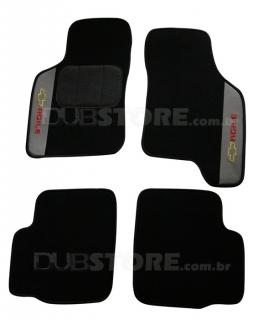 Jogo de Tapetes Automotivo em Carpet para Chevrolet Agile | DUB Store