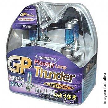Kit Lampadas Super Brancas GP Thunder Blue 8500k | HB3 (9005) | DUB Store