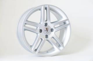 Jogo de 04 Rodas Peugeot 308 KR R41 aro 15 4x108 Prata