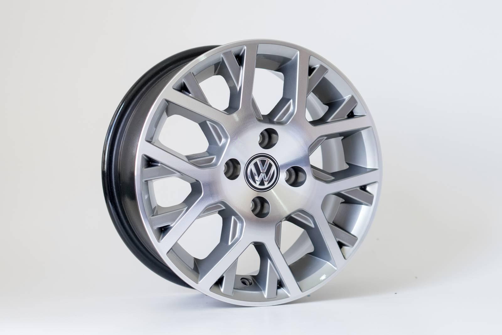 Jogo de 04 Rodas VW Saveiro Cross KR R45 aro 15 4x100 GD
