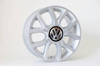 Jogo de 04 Rodas VW UP KR R50 aro 17 4x100 Prata