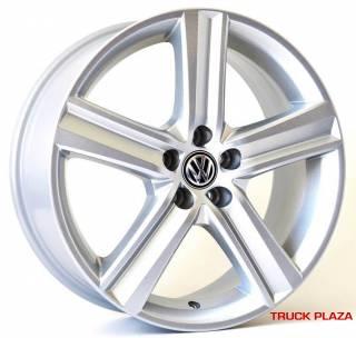 Jogo de 04 Rodas VW Fox Highline KR R65 aro 17 5x100 Prata