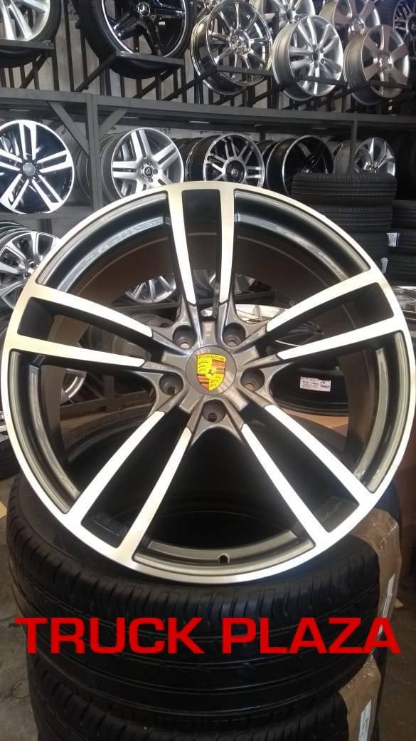 Jogo de 04 Rodas Porsche Cayenne 2019 aro 22 5x130 Et55 GD