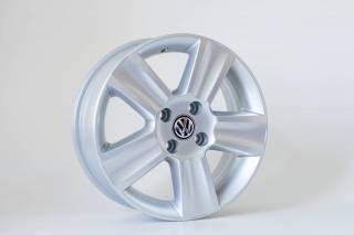 Jogo de 04 Rodas VW Saveiro Cross aro 18 4x100 KR R7 Prata
