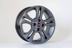 Jogo de 04 Rodas Fiat New Palio aro 14 4x98 KR R17 Grafite