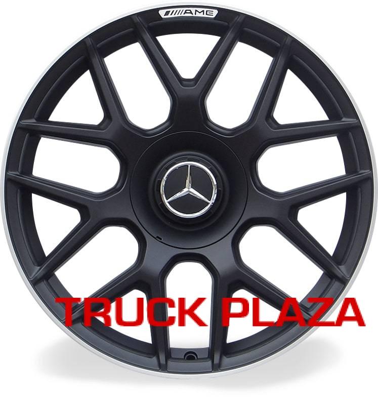 Jogo de 04 Rodas Mercedes S63 aro 18 Duas Talas Preta Borda