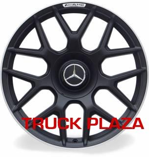 Jogo de 04 Rodas Mercedes S63 aro 19 Duas Talas Preta Borda