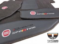 Tapete Automotivo Fiat Bravo em Carpet Linha Luxo