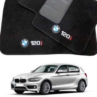 Tapete Automotivo BMW 120 i em Carpet Linha Luxo | Scar Automotive