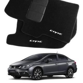 Tapete Automotivo Honda Civic em Carpet Linha Luxo | Scar Automotive