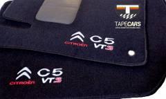 Tapete Automotivo Citroen C5 em Carpet Linha Luxo