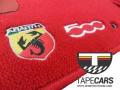 Tapete Automotivo Fiat 500 em Carpet Linha Luxo